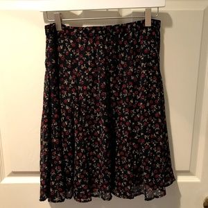 Old Navy Fall Floral Skirt